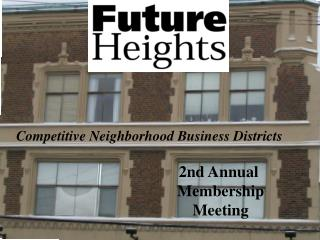 2nd Annual  Membership  Meeting