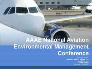 AAAE National Aviation Environmental Management Conference