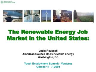 The Renewable Energy Job Market in the United States: