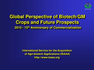 Global Perspective of Biotech