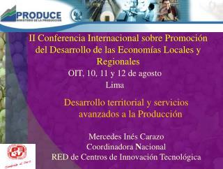 II Conferencia Internacional sobre Promoci n del Desarrollo de las Econom as Locales y Regionales