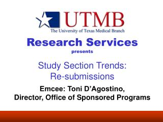 Research Services presents