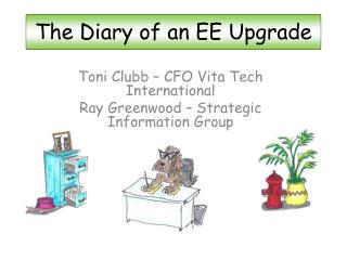 The Diary of an EE Upgrade