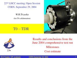 T0   TDR