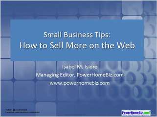 How to Sell More on the Web and Increase Conversion