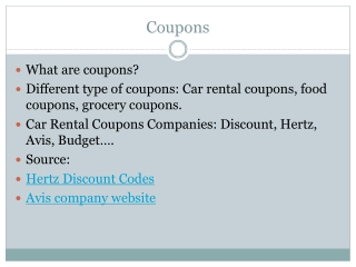 How To Get Best Car Rentals Promo codes