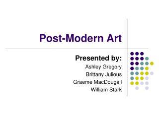 Post-Modern Art