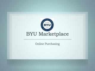 BYU Marketplace