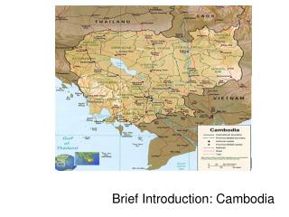 Brief Introduction: Cambodia Images of Cambodia