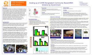 Scaling-up of CARE Bangladesh Community Based MNH Initiative by Government