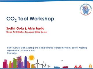 CO2 Tool Workshop