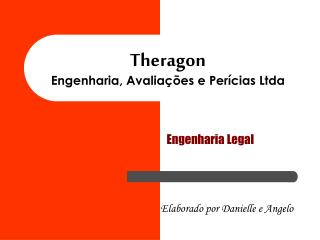 Theragon Engenharia, Avalia  es e Per cias Ltda