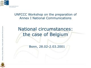 UNFCCC Workshop on the preparation of