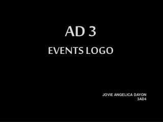 AD3 - Dayon CFAD Event Logo (3AD4) ©JOVIEDAYON