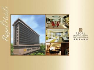 Newly renovated in major areas:  Exterior Driveway Lobby Guest rooms  iClub  Club lounge Cafe Neo Regal Terrace
