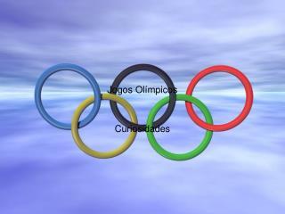 Jogos Ol mpicos