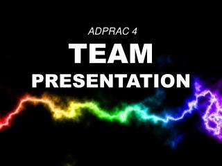 ADPRAC4 - Team Power Rangers! (3AD4) ©JOVIEDAYON