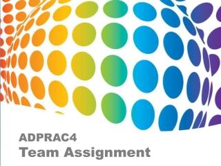 ADPRAC4 - Team Power! 6 Best Ads (3AD4) ©JOVIEDAYON