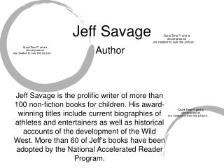 Jeff Savage