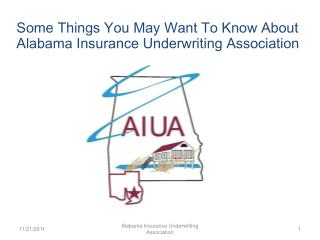 Alabama Insurance Underwriting Association
