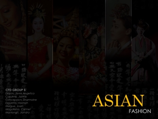 CFD - Asian Fashion (3AD4) ©JOVIEDAYON