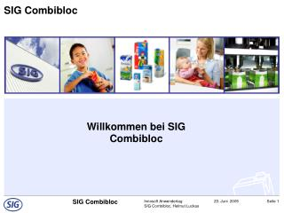 Willkommen bei SIG Combibloc
