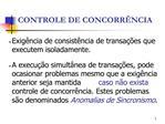 CONTROLE DE CONCORR NCIA
