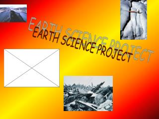 EARTH SCIENCE PROJECT