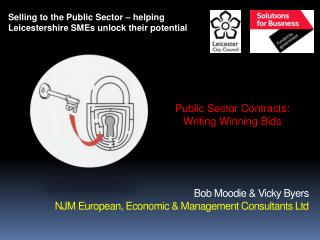 Bob Moodie  Vicky Byers  NJM European, Economic  Management Consultants Ltd