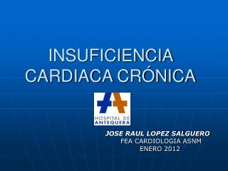 INSUFICIENCIA CARDIACA CR NICA