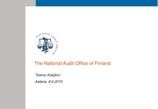 National Audit Office of Finland NAOF