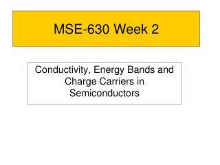 MSE-630 Week 2