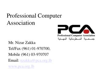 Professional Computer Association