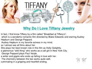 Tiffany jewelry on sale
