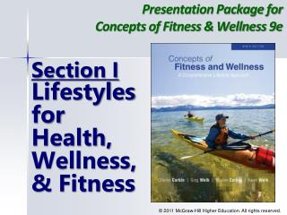 Presentation Package for  Concepts of Fitness  Wellness 9e