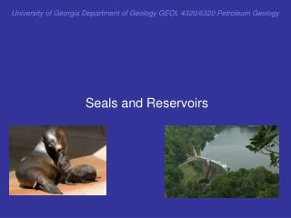 University of Georgia Department of Geology GEOL 4320