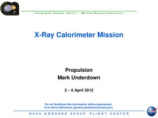 Propulsion Mark Underdown  2   6 April 2012