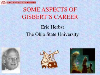 SOME ASPECTS OF GISBERT S CAREER