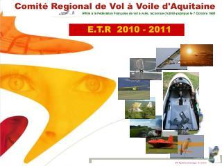 E.T.R  2010 - 2011
