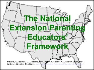The National Extension Parenting Educators  Framework