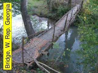 Bridge, W. Rep. Georgia