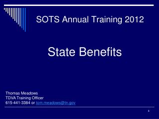 SOTS Annual Training 2012