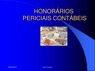 HONOR RIOS  PERICIAIS CONT BEIS