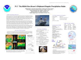 P1.7  The NOAA Ron Brown s Shipboard Doppler Precipitation Radar