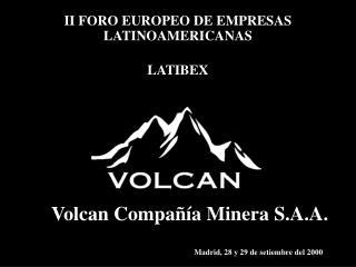 II FORO EUROPEO DE EMPRESAS LATINOAMERICANAS  LATIBEX