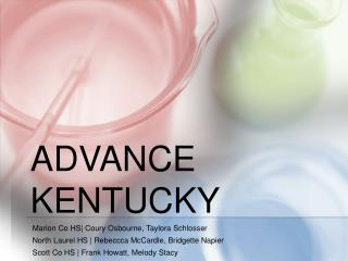 Advance kentucky