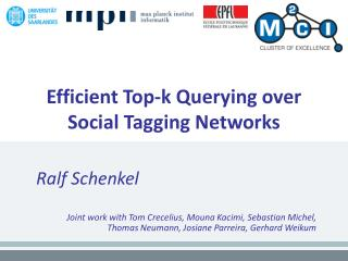 Efficient Top-k Querying over Social Tagging Networks