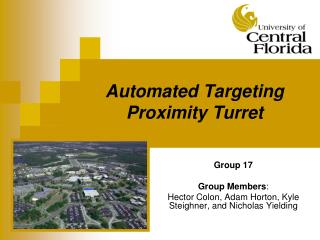 Automated Targeting Proximity Turret