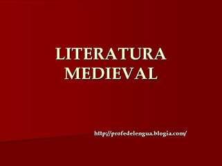 Literatura espa??ola medieval