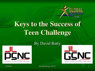 Keys to the Success of Teen Challenge